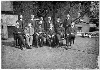 Havelock Wilson - Wilson (seated third from left) with other trade unionists, 1911