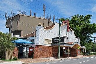 Hawthorne, Queensland - The Hawthorne cinema