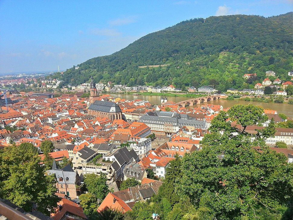 Heidelberg - aus dem Schloss 1