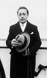 Jascha Heifetz Russian-American violinist