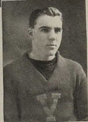 1923 College Football All-Southern Team - Hek Wakefield of Vanderbilt.