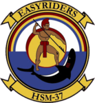 Helicopter Maritime Strike Squadron 37 (US Navy) insignia 2016.png