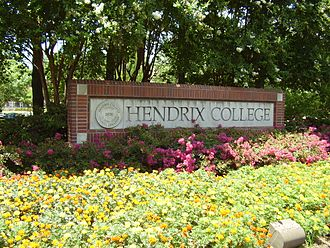 Hendrix College - The main entrance of Hendrix College
