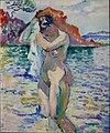 Henri Manguin, 1906, Baigneuse (Woman Bather), oil on canvas, Pushkin Museum, Moscow.jpg