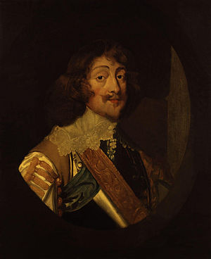 Groom of the Stool - Henry Rich, 1st Earl of Holland, Groom of the Stool to Charles I, until 1643.
