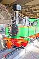 Henschel steam locomotive in Sofia Central Railway Station 2012 PD 05.jpg