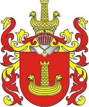 Jan Łaski - ''Korab'' coat-of-arms