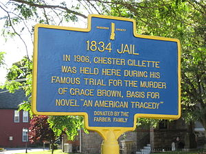 Herkimer County Jail - Image: Herkimer County Jail Marker Sep 09