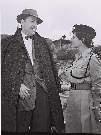 Herman Wouk - Herman Wouk in Jerusalem, 1955