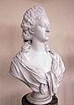 Hertiginnan Hedvig Elisabeth Charlotta av Holstein-Gottorp av Johan Tobias Sergel ca 1791 i Orangerimuseet.JPG