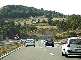 A2 motorway (Serbia) - Image: High Road Ljig Preljina