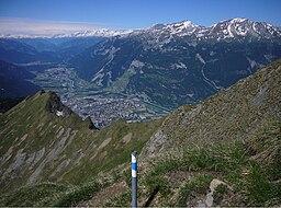 Hiking Switzerland, Graubünden capital Chur
