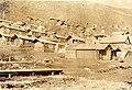 Hillside houses and log cabins, including that of William and Mabel Meed, Dawson, Yukon Territory, 1902 (MEED 136).jpg