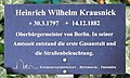 Hinweis Mehringdamm 21 (Kreuz) Heinrich Wilhelm Krausnick.jpg