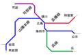Hiroshima City Network area-map.png