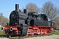 "Historic ""Pruisische"" (German) train from 1926 as remmberance statue at Gennep - panoramio.jpg"