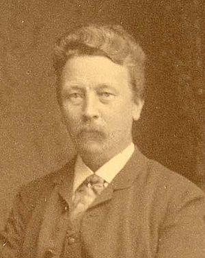August Hjalmar Edgren -  August Hjalmar Edgren, c. 1885