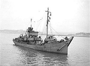 Naval trawler - First World War naval trawler, HMT Swansea Castle
