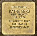Hofgeismar-Stolperstein-Käthe Berg-CTH.JPG