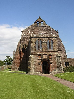 Grade I listed churches in Cumbria - Image: Holme Cultram Abbey, Abbeytown (NY1750)