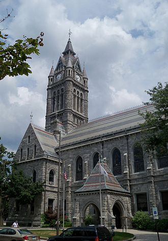 Holyoke, Massachusetts - Image: Holyoke City Hall 5