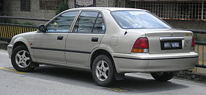 Honda City - Third generation Honda City, pre-facelift (Malaysia/South East Asia)