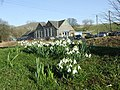 Horton-In-Ribblesdale Primary School (and Snowdrops) - geograph.org.uk - 697374.jpg