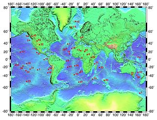 Pitcairn hotspot volcanic hotspot in the south-central Pacific Ocean
