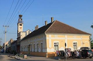 Hrtkovci Village in Vojvodina, Serbia