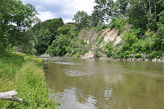 Toronto ravine system - The ravine system was formed by millennia of rivers and creeks eroding loose soil, deposited throughout the region during the end of the last glacial period.