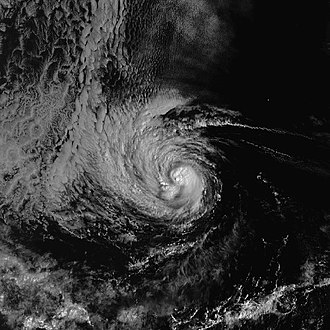 1998 Pacific hurricane season - Image: Hurricane Kay 13 oct 1998