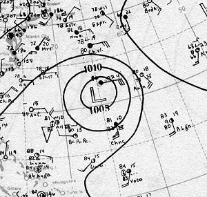 1930 Atlantic hurricane season - Image: Hurricane One Analysis 26 Sep 1930