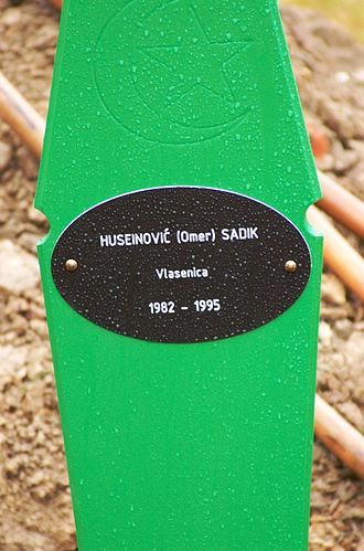 Bosnian genocide denial - Image: Huseinovic Sadik