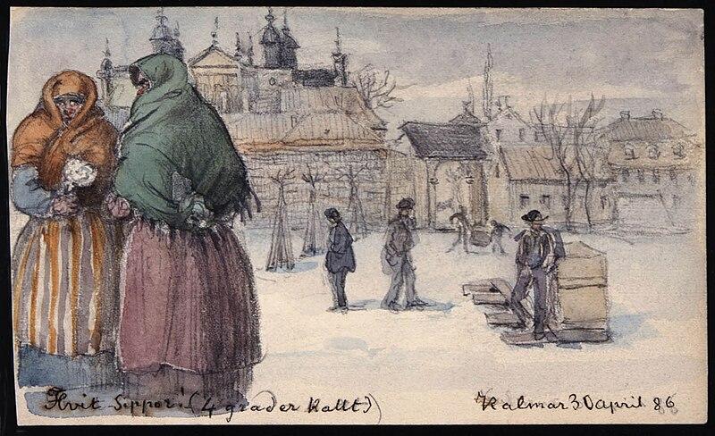 File:Hvitsippor (4 grader kallt). Fritz von Dardel, 1886 - Nordiska Museet - NMA.0037313.jpg