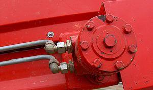 Hydraulic motor - A small hydraulic motor
