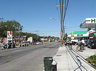 Hylan Boulevard Boulevard in Staten Island, New York