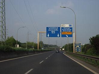 A4 motorway (Luxembourg) - Image: IMG 3162 (FIL Eminimizer)