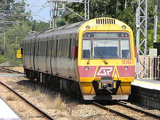 Walkers Limited - QR 100 class at Landsborough in April 2010