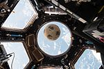 ISS-50 Soccer ball in advance of Challenger remembrance.jpg