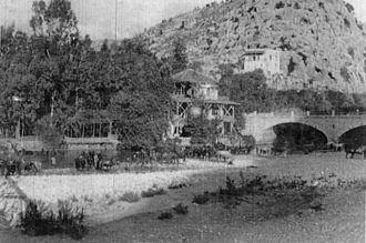7th (Meerut) Division - The Meerut Division at Nahr al-Kalb (Dog river) in Lebanon, October 1918