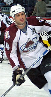 Ian Laperrière Canadian ice hockey player
