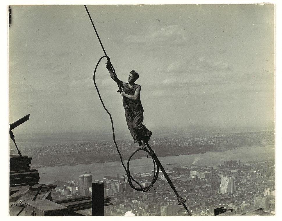 Icarus, Empire State Building MET DP106525