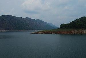 Idukki Dam - Idukki Dam Reservoir