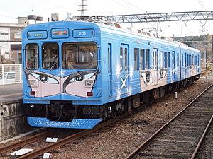 Iga Railway Iga Line - Image: Iga Tetsudou 200Series 02