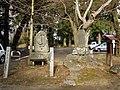 Iida Castle (Shinano) Kankotei monument 1.jpg