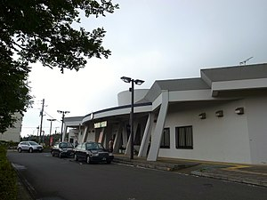 Iioka Station - The station front, August 2014