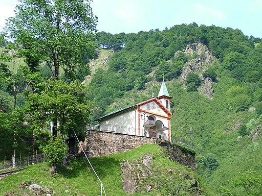 Il Santuario della Colletta,posto sull'omonimo colle