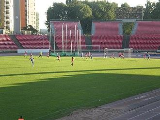 Tampereen-Viipurin Ilves-Kissat - Ilves-Kissat playing at home in the Ratina Stadion against Salon Palloilijat in 2011 Kakkonen in August 2011.