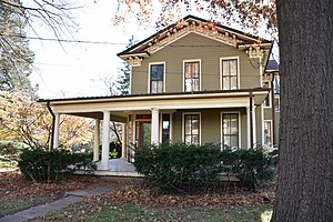 National Register of Historic Places listings in Johnson County, Iowa - Image: Image The Billings Ey Hills House