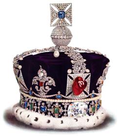Корона Британской империи Википедия